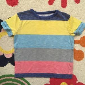 Mini Boden Striped Tee Boys 3 4